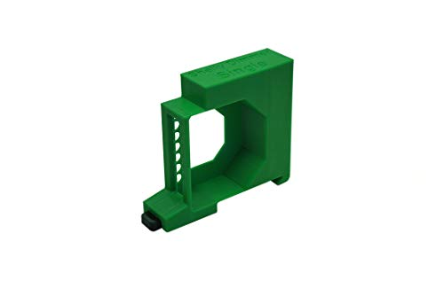 Shelly Dimmer/Dimmer 2 Hutschienenhalter/Adapter Single DIN Rail bracket (35mm) (Grün)