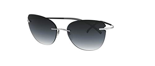 Silhouette Gafas de Sol TMA - THE ICON 8175 Ruthenium/Grey Shaded talla única mujer