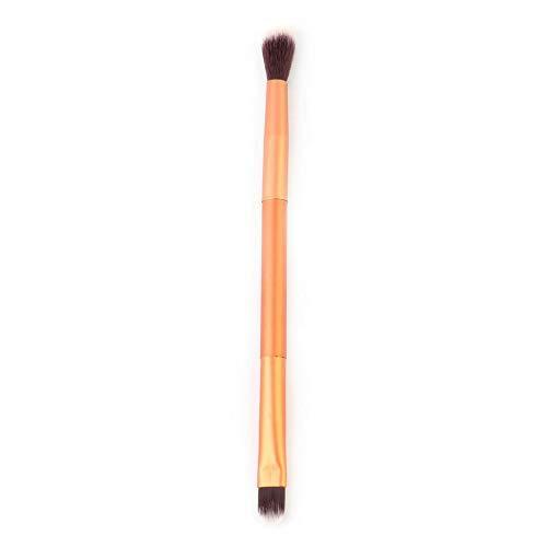 Or Super Soft synthétique poignée en métal cheveux Doublement Ombre à paupières terminé fard à paupières cosmétique de maquillage outil Pinceau Matériel fiable