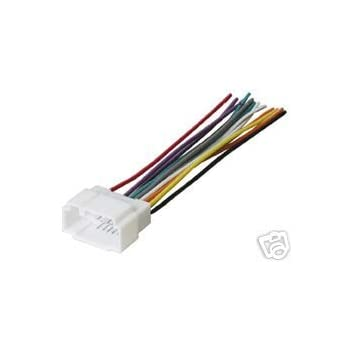Amazon Com Stereo Wire Harness Isuzu Rodeo 98 99 00 01 2000 Car Radio Wiring Installati Automotive