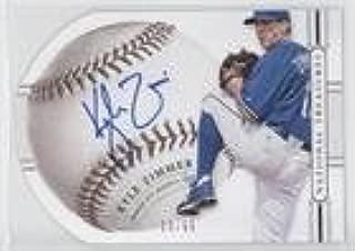 Kyle Zimmer #23/99 (Baseball Card) 2014 Panini National Treasures - Baseball Signature Die-Cuts #59