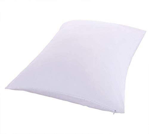 Royal Bedding 2 Pillow Protectors, Zippered Hypoallergenic...