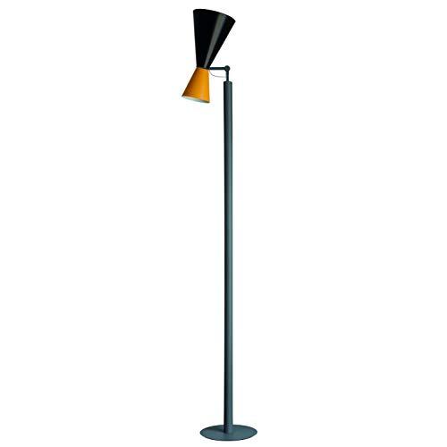nemo lampada Nemo Lighting Parliament lampada da terra giallo e nero