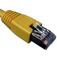 Telegärtner F-STP LSZH - Cable RJ45 (cat. 7, 5 m), color amarillo