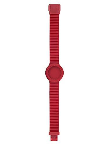 Orologio HIP HOP DONNA HERO 32 quadrante MONO-COLORE ALTRO e CINTURINO SILICONE ROSSO HBU0896