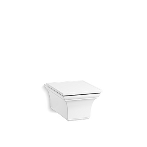 KOHLER Memoirs elongated dual-flush wall-hung toilet