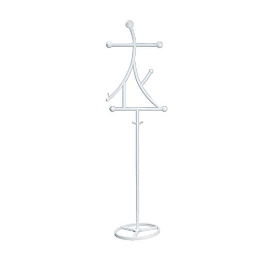 ZWD Creativiteit BUITENJACK Frame, smeedijzer Boutiques Etalage Display Stand Heavy Chinese School Entree Suspension Kapstok Jurken en hoeden Planken (Color : B, Size : 170 * 42CM)