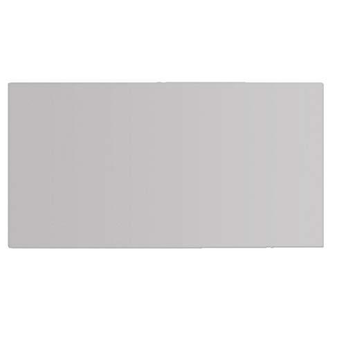 Hiinice Desk Pad Antideslizante Mat Mesa de Escritorio PU Impermeable Protector de la Tabla Grande Alfombrilla de ratón de Escritorio del Ordenador portátil Escritura de la Estera Gris