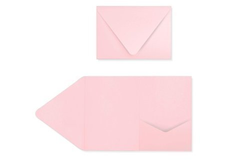 A7 Pocket Invitations (5 x 7) - Candy Pink (70 Qty.)