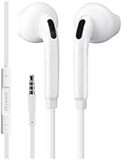 iTrend Stereo Earphones, In-Ear 3.5mm Universal Crystal Sound And Noise Isolating Earbuds With In-Line Remote Volume Contr...