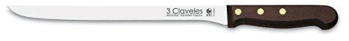 3Claveles 1029 - Cuchillo jamonero de 24 cm, 9,5 pulgadas