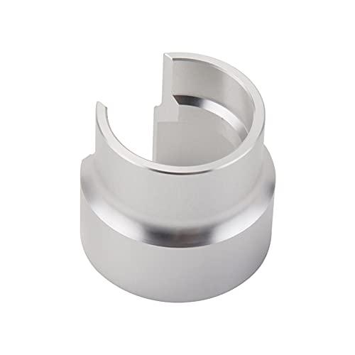 zis Sello cabeza herramienta de empuje apto para beta RR 4T 350 390 430 480 2T 125 250 300 RC 2019 2018 2017 Herramienta de compresión de pistón de amortiguador trasero (Color : Silver)