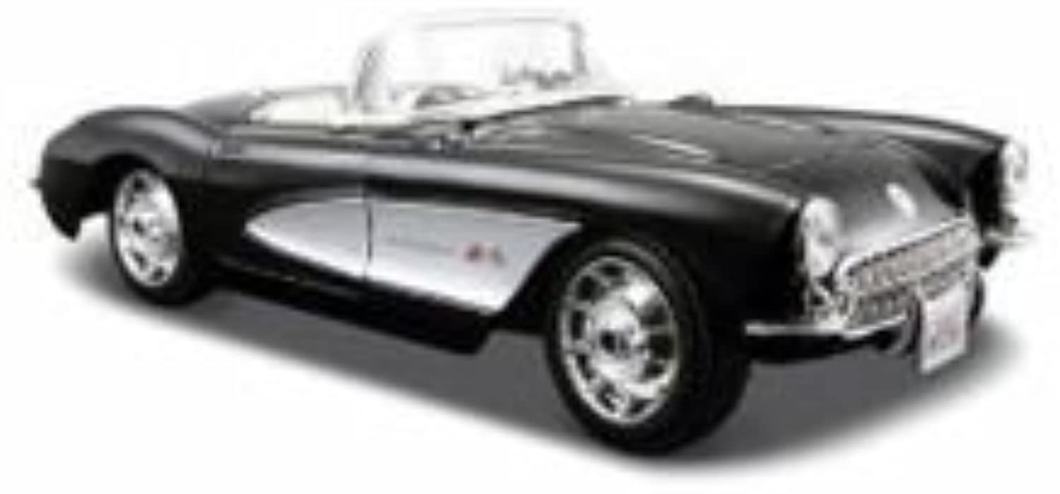 Maisto Special Edition 1 24 1957 Chevrolet Corvette  schwarz with Silber by Maisto