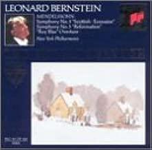 Mendelssohn: Symphony No. 3- Scottish / Symphony No. 5- Reformation / Ruy Blas Overture Royal Edition, No. 53