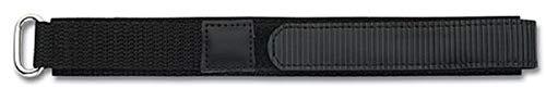 Eichmüller - Correa de Repuesto para Reloj de Pulsera, 16 mm, con Cierre de, Color Negro