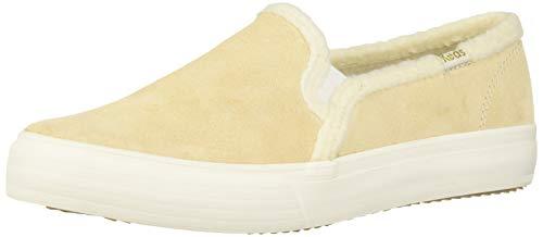 Keds womens Double Decker Sneaker, Cream, 9.5 US