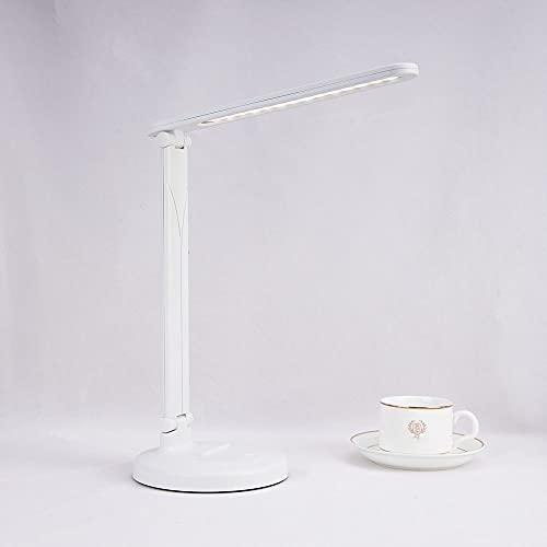 Lámpara de mesa portátil plegable USB, lámpara de mesa de lectura, lámpara de escritorio de estudiante, lámpara de escritorio de dormitorio xinhen