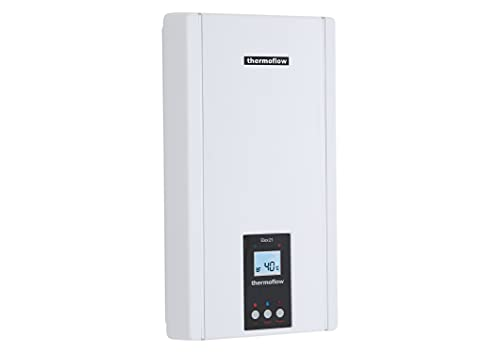Thermoflow ELEX21N Elex 21 N Elektronischer Durchlauferhitzer, Weiß, KW