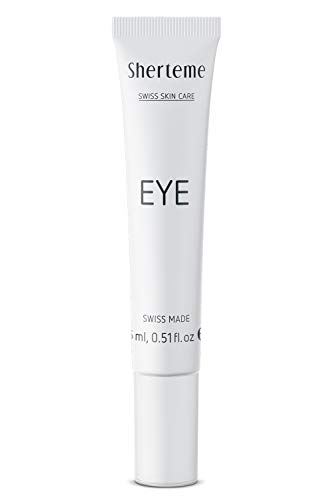 Sherteme EYE Hyaluron-Augencreme 1x15ml | Augenringe entfernen | Augencreme gegen Falten und gegen Augenringe | Augencreme für Männer & Frauen | Eye Cream | Augencreme gegen Tränensäcke & müde Augen