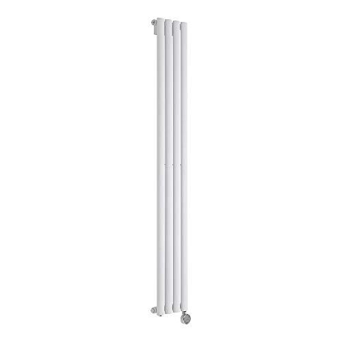 Radiador de Diseño Eléctrico Vertical - Blanco - 1600mm x 236mm x 56mm - Revive