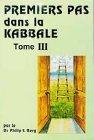 Premiers pas dans la kabbale, tome 3