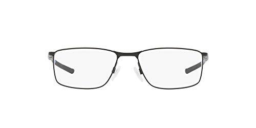 Oakley 3217, Monturas de Gafas para Hombre, Negro (Satin Black Cobalt), 55