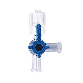 Cole-Parmer 3060002 Stopcocks with Luer Connections; 3-way; male lock, Non-sterile