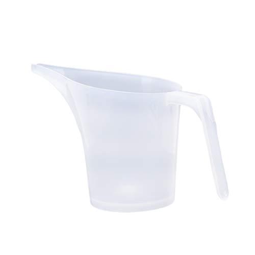 Messbecher aus Kunststoff, 1000 ml, Messbecher, Messbecher, Skala, für Küche, Backen, Kochen, Kuchen, 1 Stück