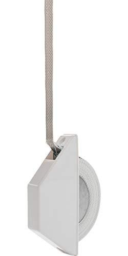 Schellenberg 50505 Halbeinlasswickler Mini, für 14 mm Gurtbreite, Lochabstand 13,5 cm, Montage auf dem Fenster- oder Türrahmen