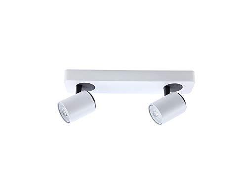 Schuller Spots Modernes – Bloc 2 Spots Turn Blanc