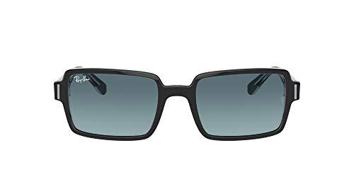 Ray-Ban 0RB2189 Lentes Oscuros, Black ON Transparent, 52 Unisex