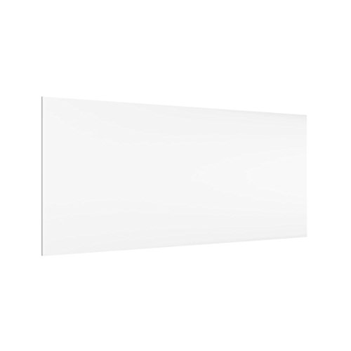 Bilderwelten Paraschizzi in Vetro - Polar White - Orizzontale 1:2, Paraschizzi Cucina Pannello paraschizzi Cucina paraspruzzi per Piano Cottura Pannello per Parete Cucina, Misura (AxL): 40cm x 80cm