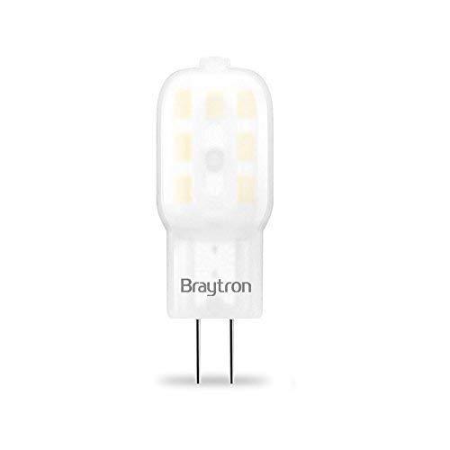 G4 | LED Leuchtmittel | 1,5 Watt | 12V | 160 Lumen | Stiftsockel | Stecklampe | Lampe | Birne | kaltweiß | 10 Stück