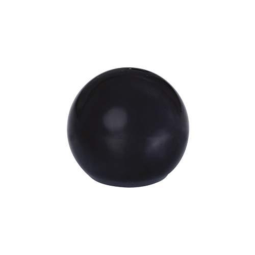 WAGNER Bodentürstopper Golfball - Durchmesser Ø 29 x 32 mm, hochwertiger Kunststoff, schwarz, zum Schrauben, inklusive Montagematerial - 15504511