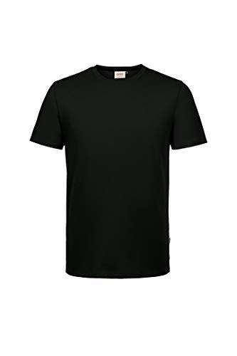 HAKRO T-Shirt Cotton-Tec, schwarz, 3XL