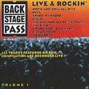 Backstage Pass 1: Live & Rockin [Casete]