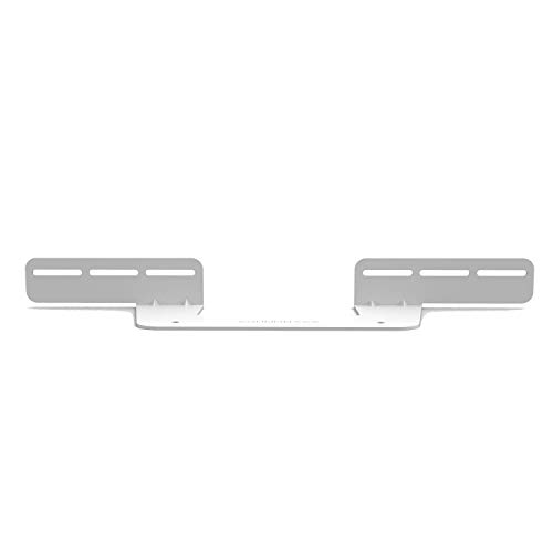 Sonos Beam Wall Mount Bracket, White, Includes Mounting Hardware Kit to Hang Your Soundbar, Designed in The UK by Soundbass