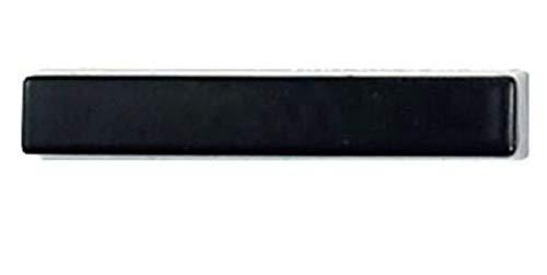 Letras de números de casa flotante de 125 mm Alfabeto de puerta grande y moderno Hogar al aire libre Números negros de 5 pulgadas Placa de dirección Signo de barra diagonal #0-9
