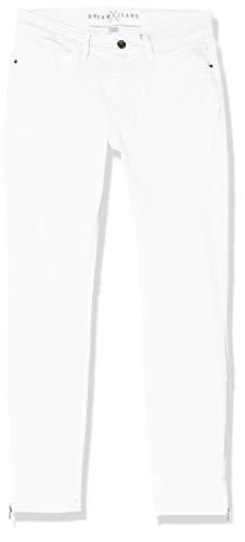 MAC JEANS Damen DREAM CHIC Jeans, Weiß (White Denim D010), 36W x 29L