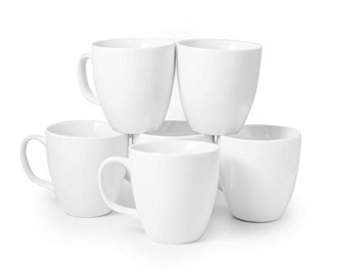 Amuse Professional Barista Cozy Grande Mug- Set of 6 (14 oz)