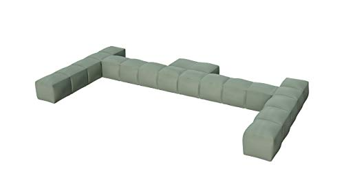 Pigro Felice - Modul'Air Double Inflatable Pool Backrest - Durable Materials - Long Life - Premium - Olive Green
