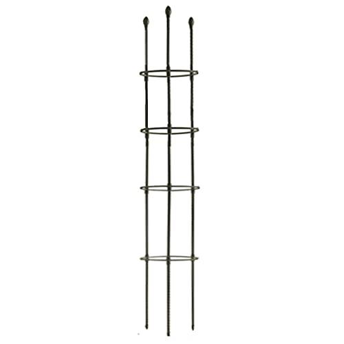 Obelisk - Obelisco de jardín - Obelisco de metal - Soporte para plantas trepadoras, flores,...