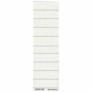 Leitz Beschriftungsschilder für Vollsichtreiter 60x21mm weiß VE=100 Stück