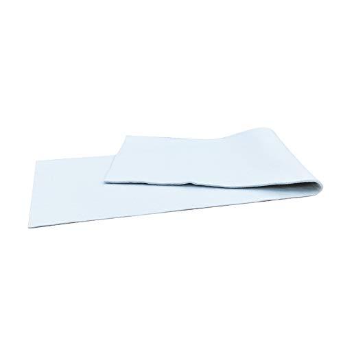 Duwee Cubierta Tabla de Planchar Almohadilla de Fieltro Cubierta de Material de Fieltro Extra Denso para Cubierta de Tabla de Planchar Fácil de Cortar a Medida (139X39cm con 10mm de Espesor)