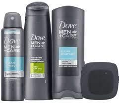 Dove Men + Care Tagespflege-Geschenkset mit Bluetooth-Lautsprecher, 2 in 1 Shampoo, Duschgel, Anti-Transpirant - Weihnachtsgeschenkset für Männer