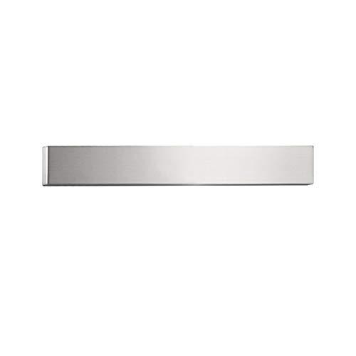 Magnetische messenhouder, roestvrijstalen magnetisch messenrek voor wandzelfklevend, messenblok opbergrek standaard voor metalen gebruiksvoorwerpen gereedschap keukenmagazijn 4x31cm ZILVER