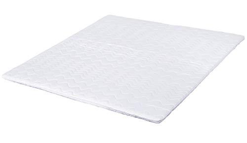 Visco-Topper 160 x 200 für Boxspringbett oder als viscoelastische Matratzenauflage für unbequeme Betten. Der Memory-Schaum passt sich Ihrem Körper an. Made in Germany und vielfach geprüfte Qualität