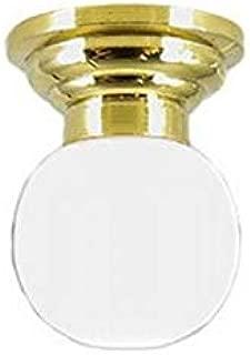 Melody Jane Dollhouse Ceiling Light White Globe Shade 12V Miniature Electric Lighting