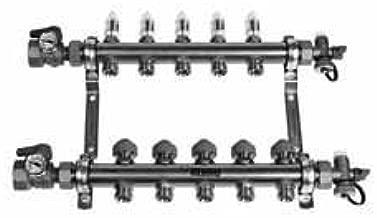 Rehau 240121-100 Pro-Balance 1 in. Brass Manifold (12 Stations)