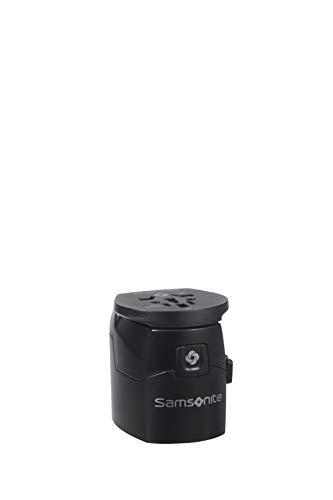 SAMSONITE Global Travel Accessories - Worldwide Adaptador Internacional 7 Centimeters 1 Negro (Black)